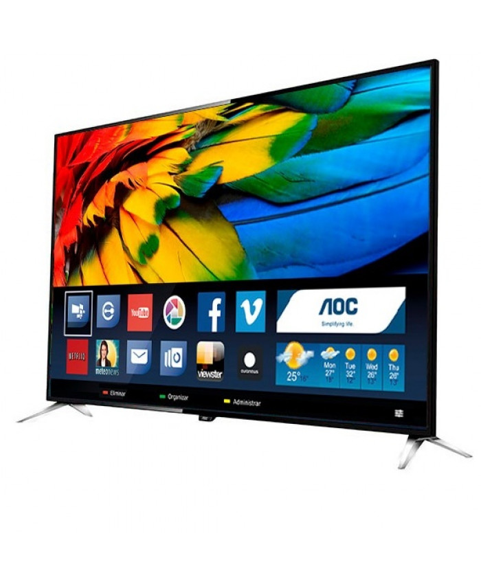 "TV LED AOC 55"" ULTRA HD 4K SMART - LE55U7970"